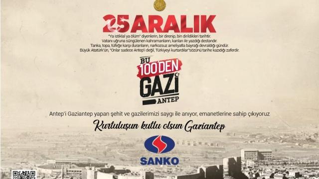 SANKO Holding 25 Aralık